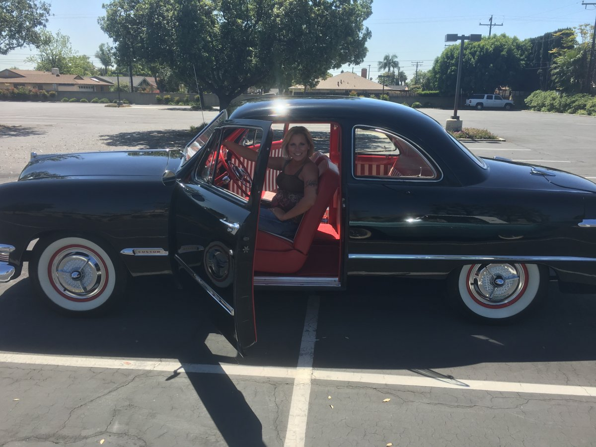 1950 ford custom deluxe club coupe for sale the h a m b. Black Bedroom Furniture Sets. Home Design Ideas