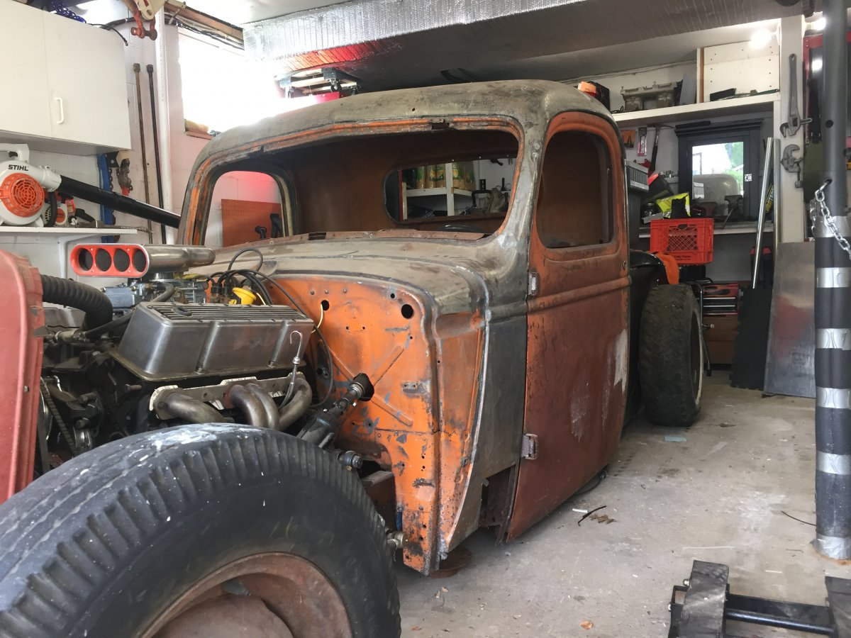 1941 Chevy Rat Rod Pickup Truck | The H.A.M.B.