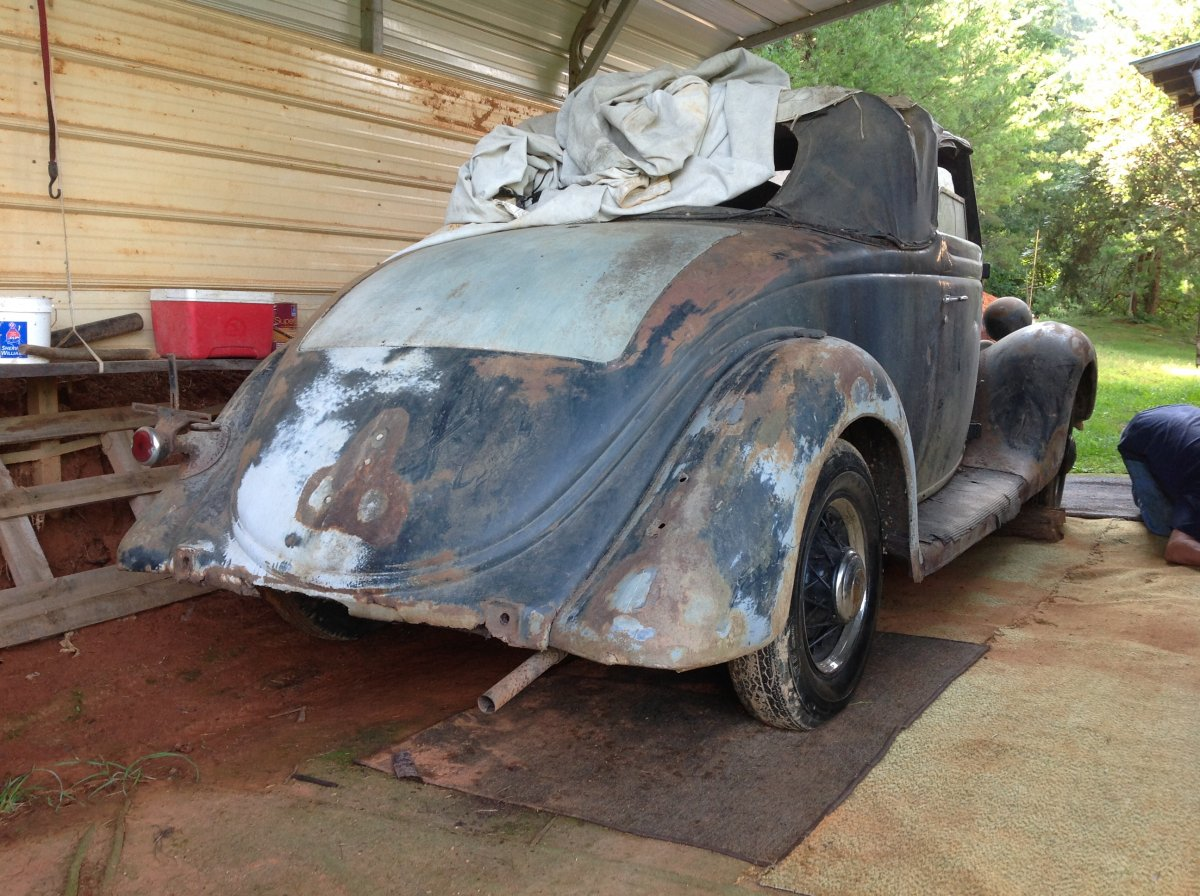 1935 Ford Barn Find | The H.A.M.B.
