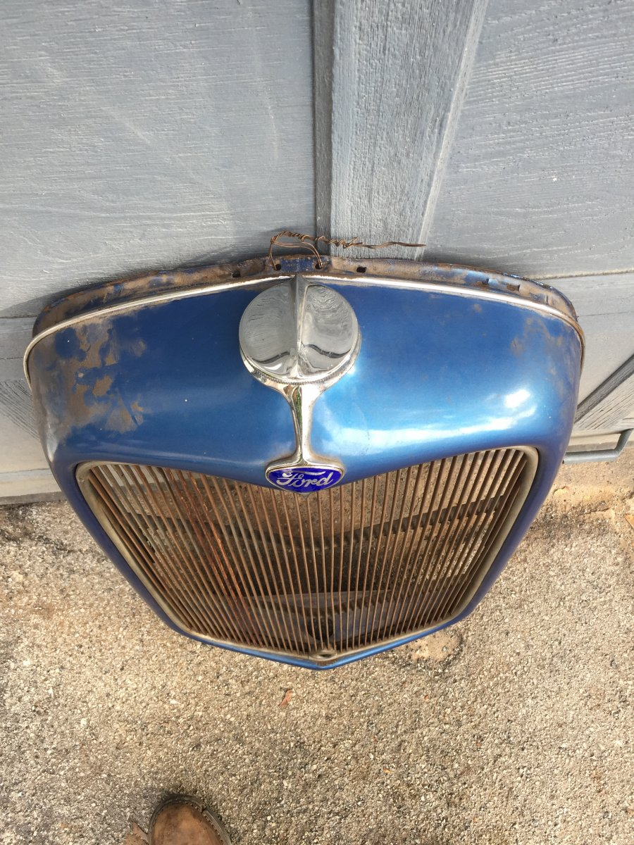 Jersey City Ford >> Early 1932 ford grill shell *****SOLD*****   The H.A.M.B.