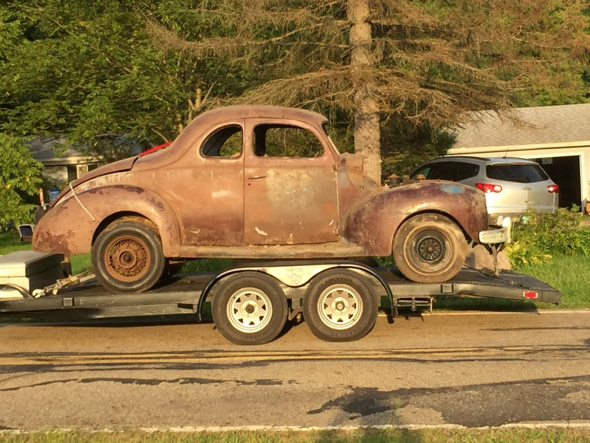 40 ford coupe for sale sold the h a m b. Black Bedroom Furniture Sets. Home Design Ideas