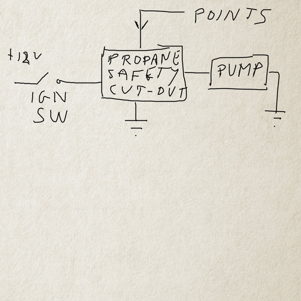 technical fuel pump wiring diagram the h a m b you could also use the safety relay from a propane powered vehicle they have a 12volt input ground points input and 12 volt output