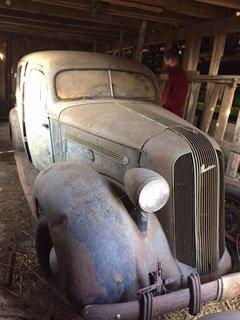 1935 Pontiac Sedan   The H A M B