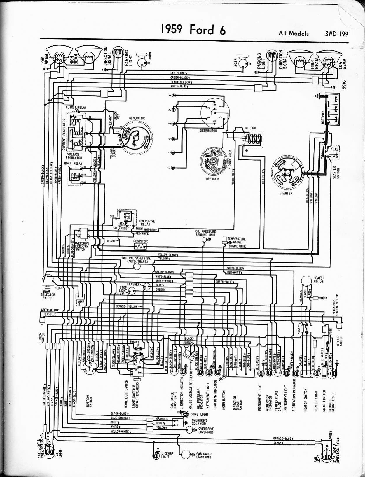 wiring diagram internal regulator on 1956 ford truck wiring harness 1970 Mercury Cougar Wiring Diagram