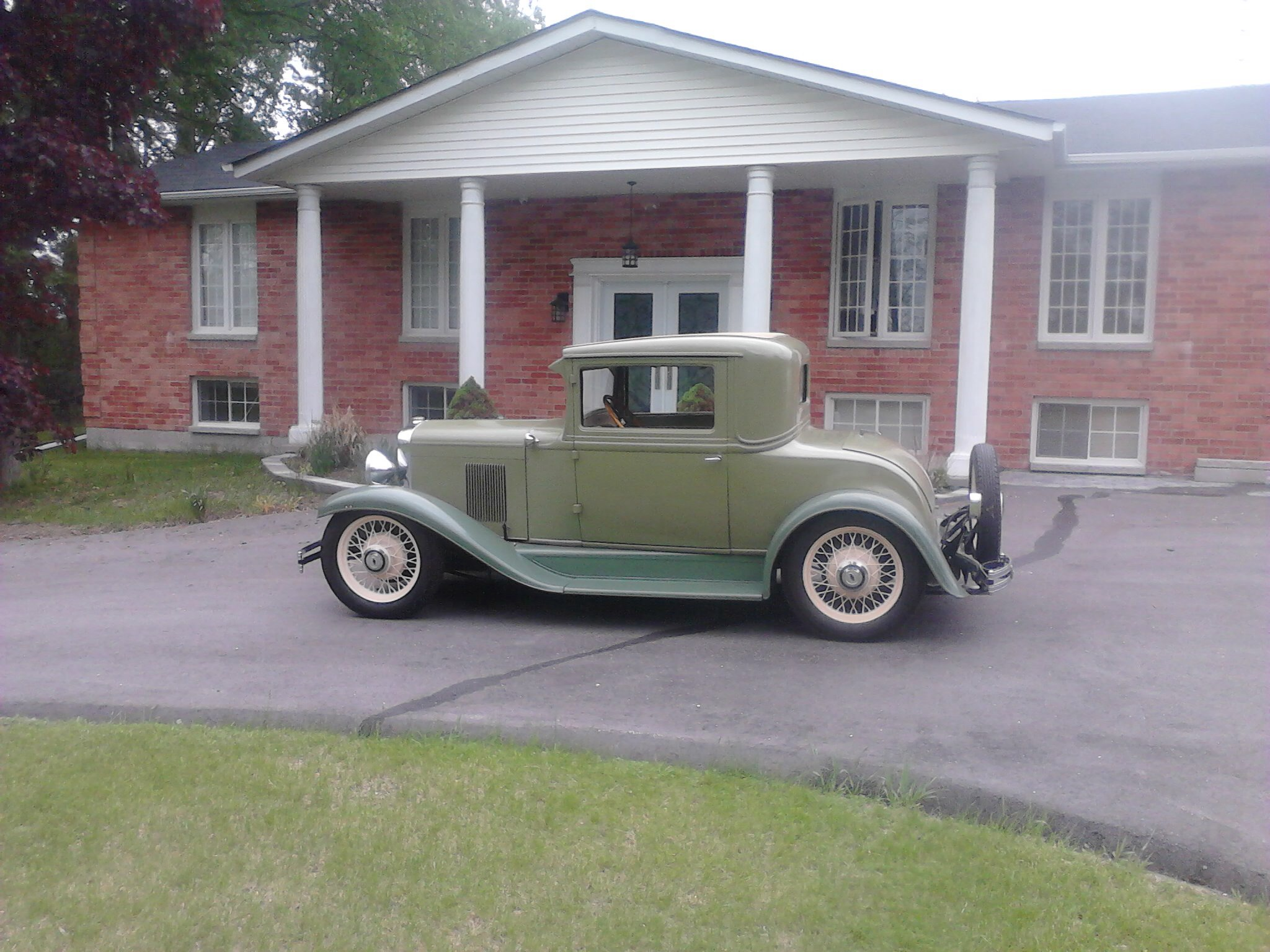 1929 1930 chevy 3 window coupe project the h a m b for 1930 pontiac 3 window coupe