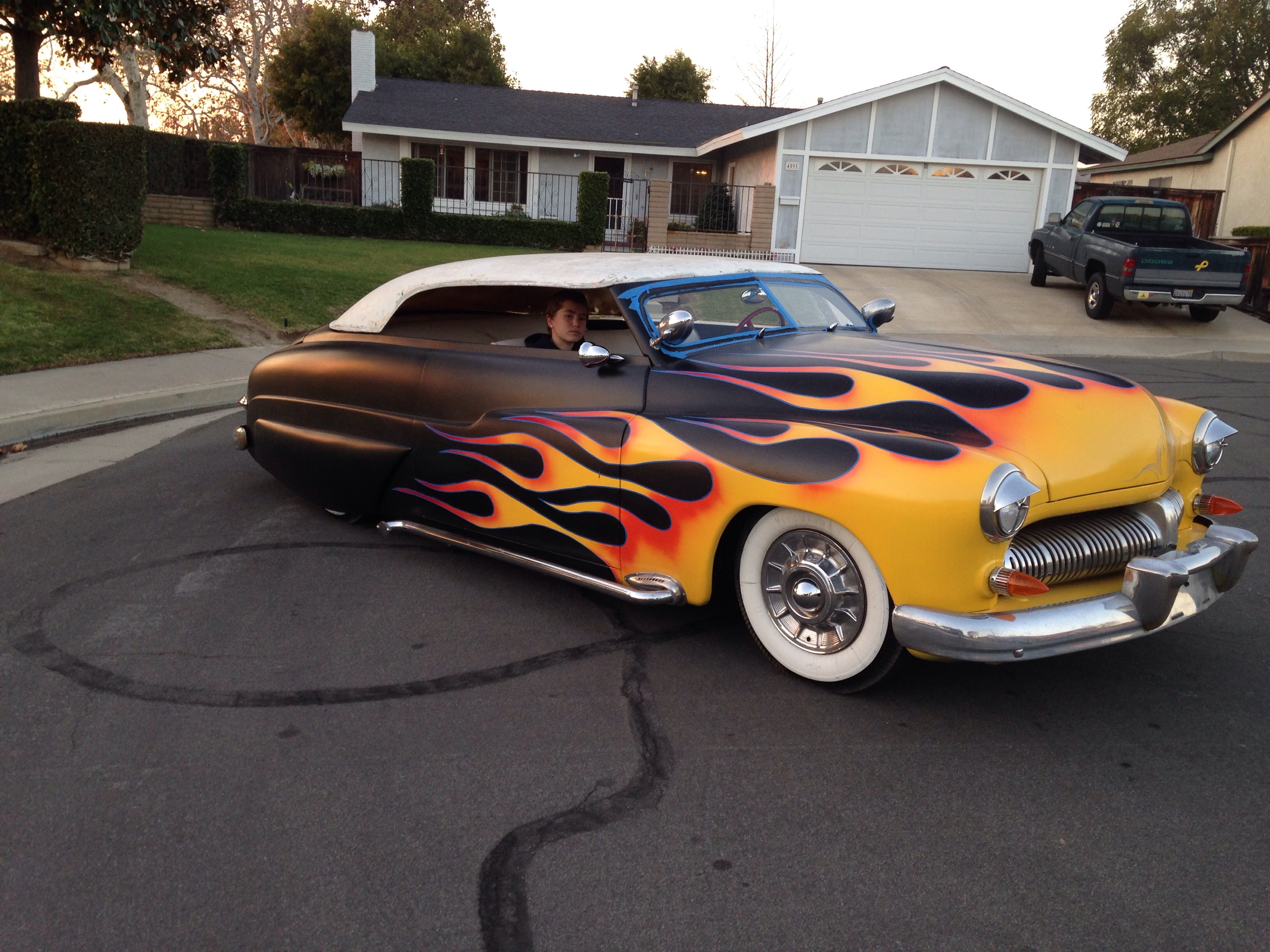 1950 Mercury custom lead sled | The H.A.M.B.