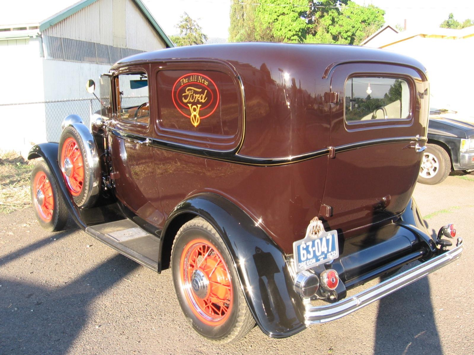 Features The New 1932 Ford Sedan Delivery Thread Page