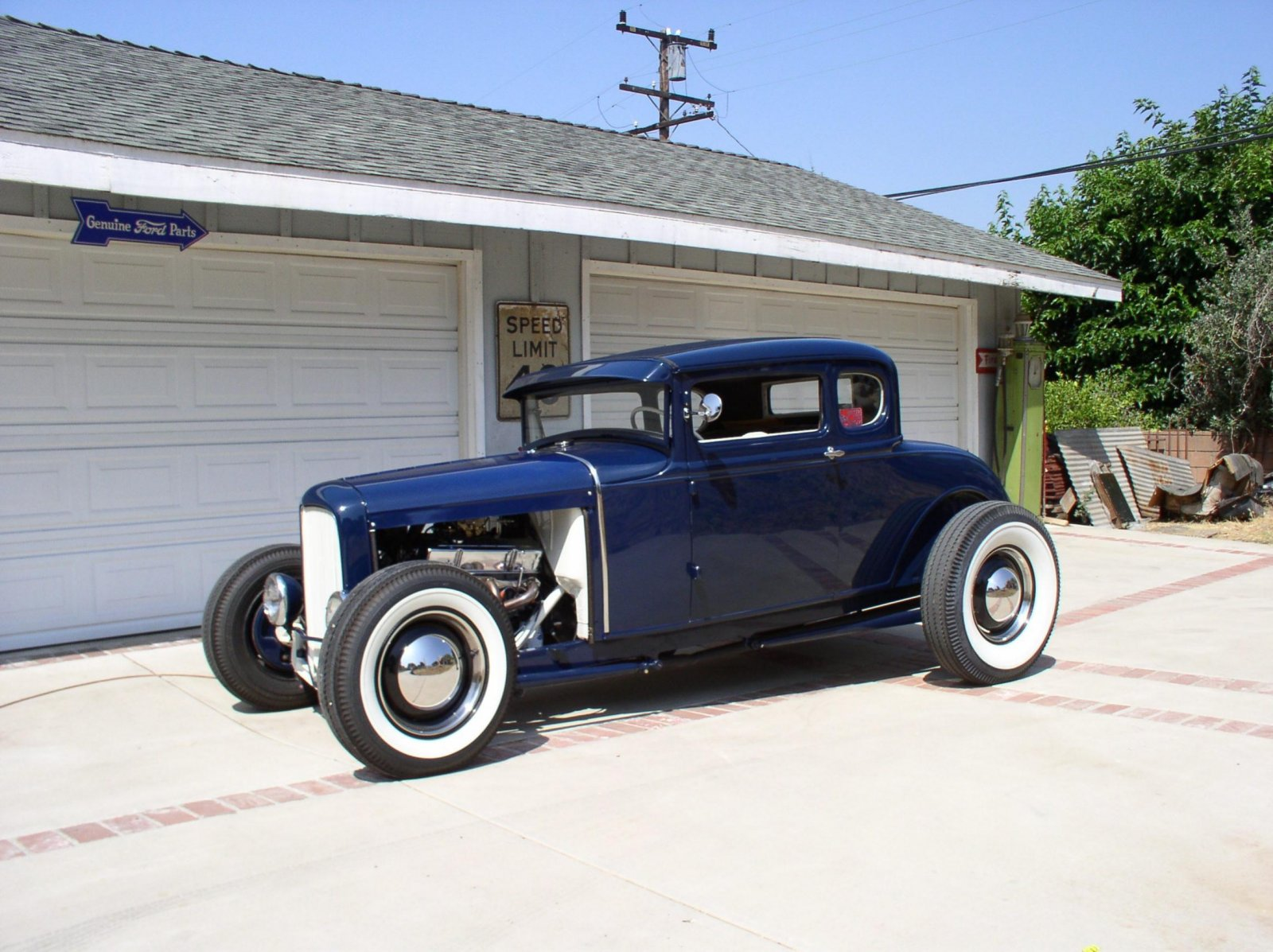 Hot Rods - Question about front suspension on this A coupe