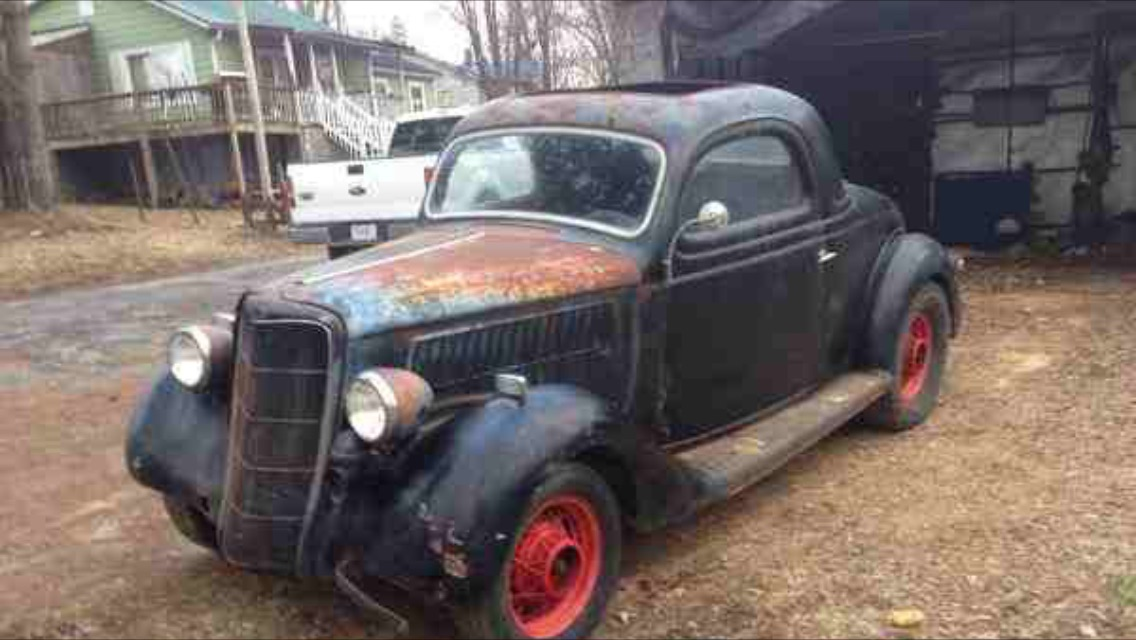 1945 Ford Truck >> 1935 Ford 3 window coupe $15,500 | The H.A.M.B.