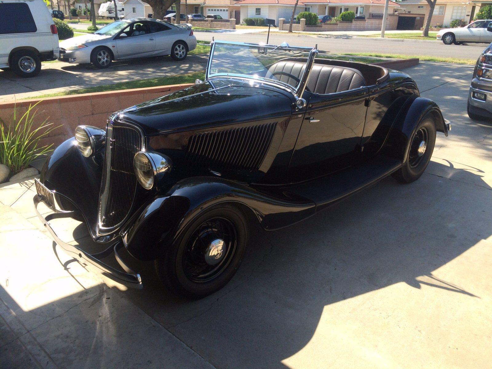 1933 Ford Roadster - Original | The H.A.M.B.