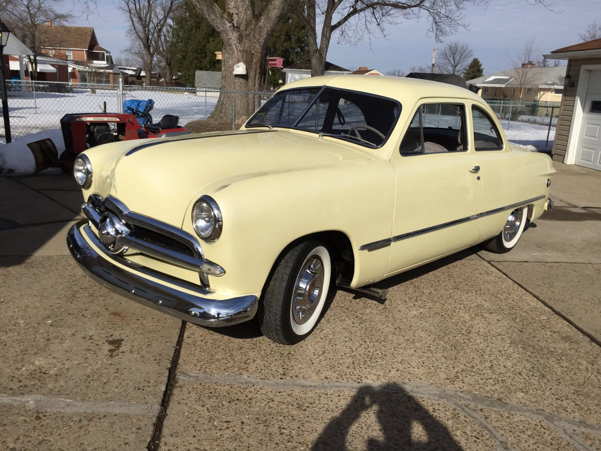 1949 Ford Club Coupe The H A M B