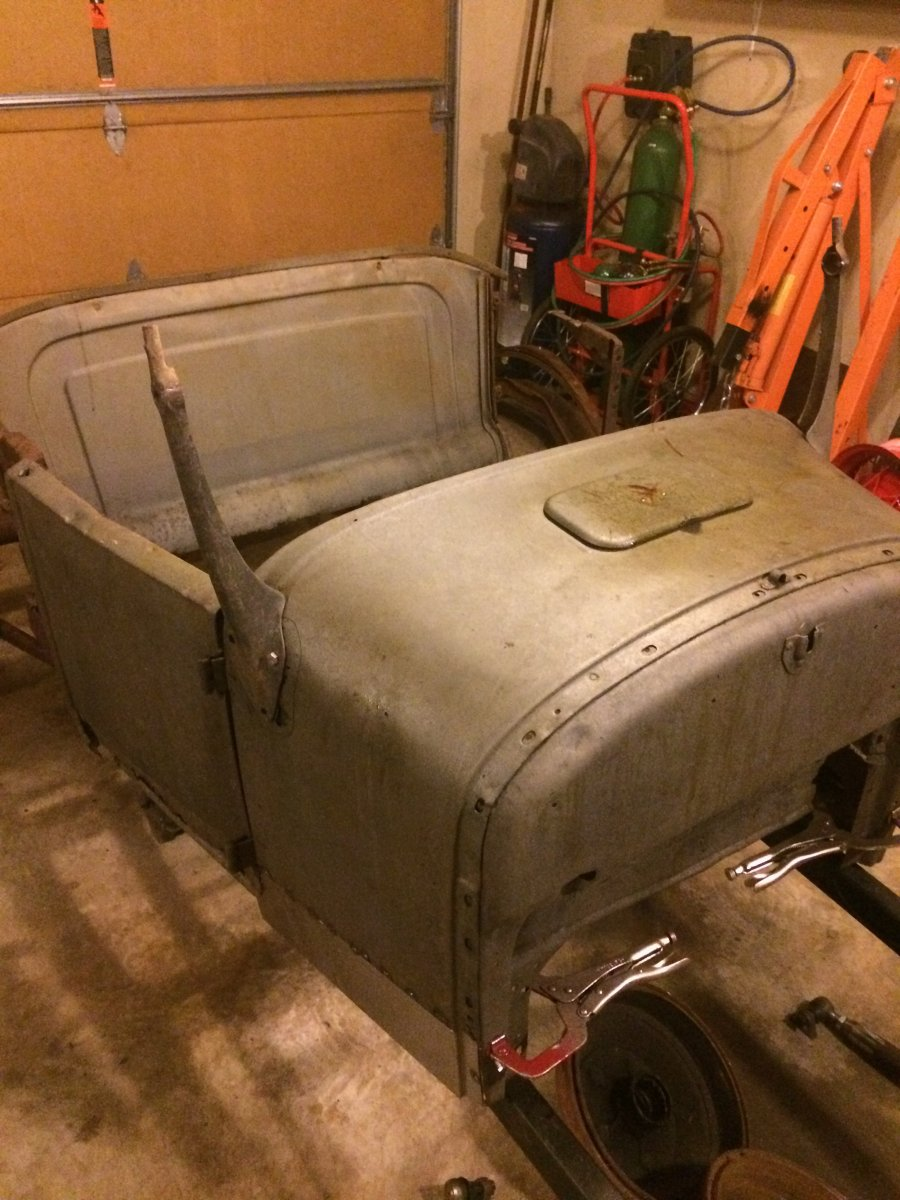 1926/27 Ford Model T roadster tub with t-bucket frame ...