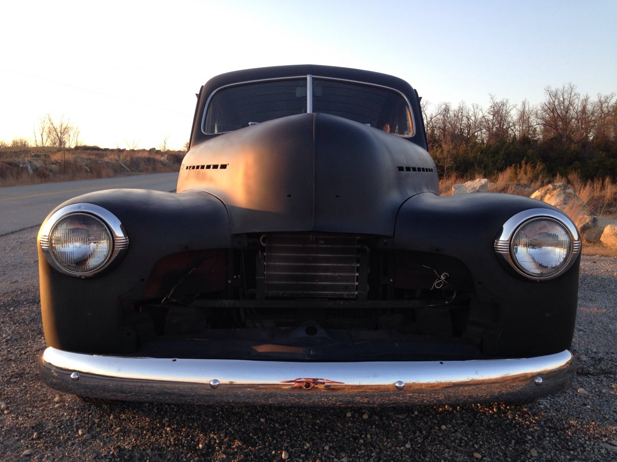 1942 Chevy Styleline Deluxe Coupe The H A M B