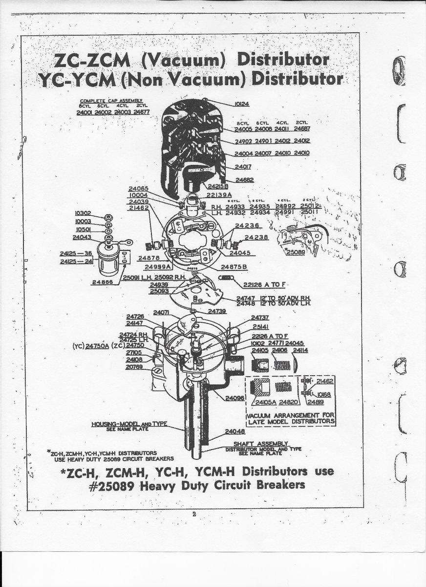Technical - Mallory flat top vacuum advance?? | The H.A.M.B. on