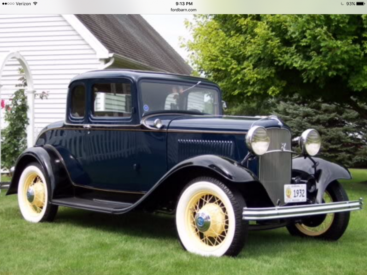 Reduced 1932 ford 5 window v8 coupe restored factory stock for 1932 ford 5 window coupe