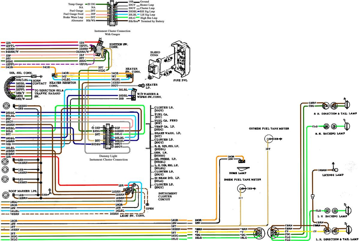 avs led tail light wiring diagram 69 nova tail light wiring diagram technical - wiring up turn signal switch | the h.a.m.b.