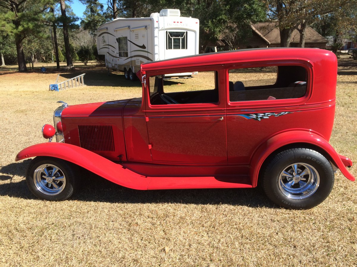 1931 chevrolet all steel the h a m b for 1931 chevrolet 4 door sedan