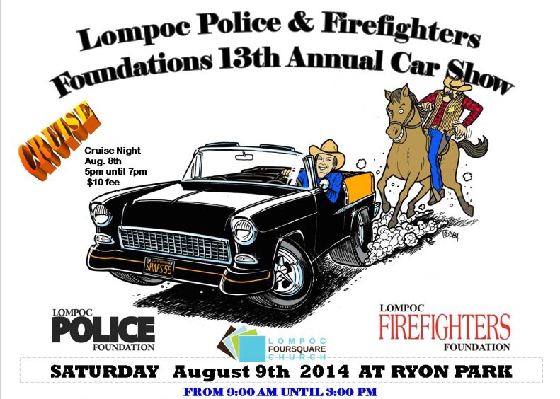 Lompoc Police And Fire Department Car Show The HAMB - Lompoc car show