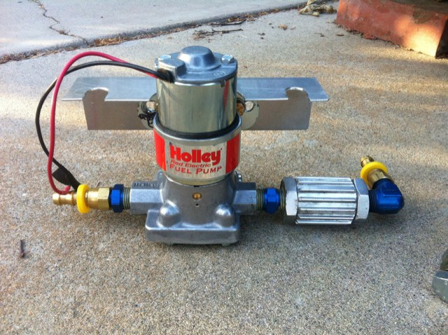 Help please. Holley Red electric fuel pump won't stay primed ... on