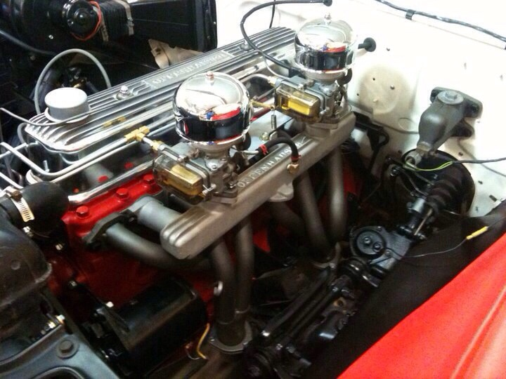Projects 1956 Ford 223 Manifold The H A M B