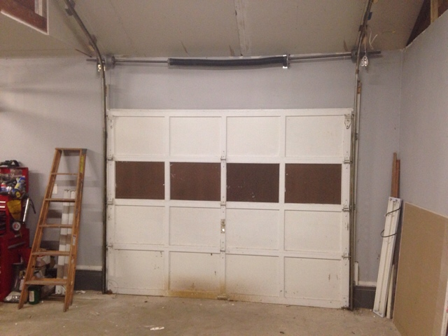 Two Post Lift In Two Car Garage Install The H A M B