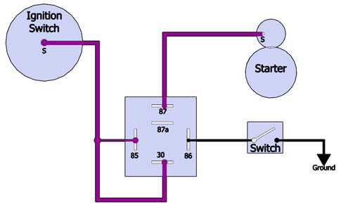 relay wiring help the h a m b rh jalopyjournal com Relay Schematic Wiring Diagram 5 Pole Relay Wiring Diagram