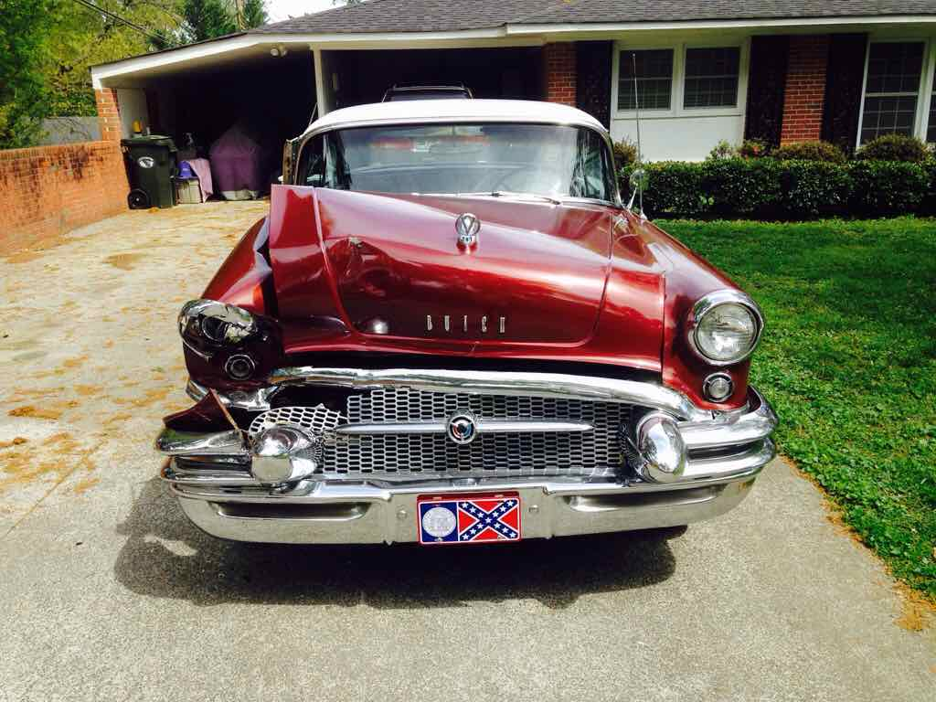 1955 buick century need help the h a m b for 1955 buick century 4 door hardtop