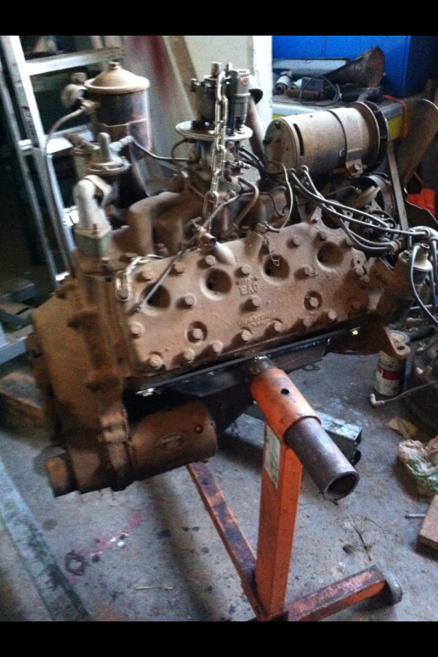 Projects Engine Stand For 1951 Ford Flathead V8 The H A M B