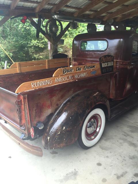 Wooden Sideboard Vintage