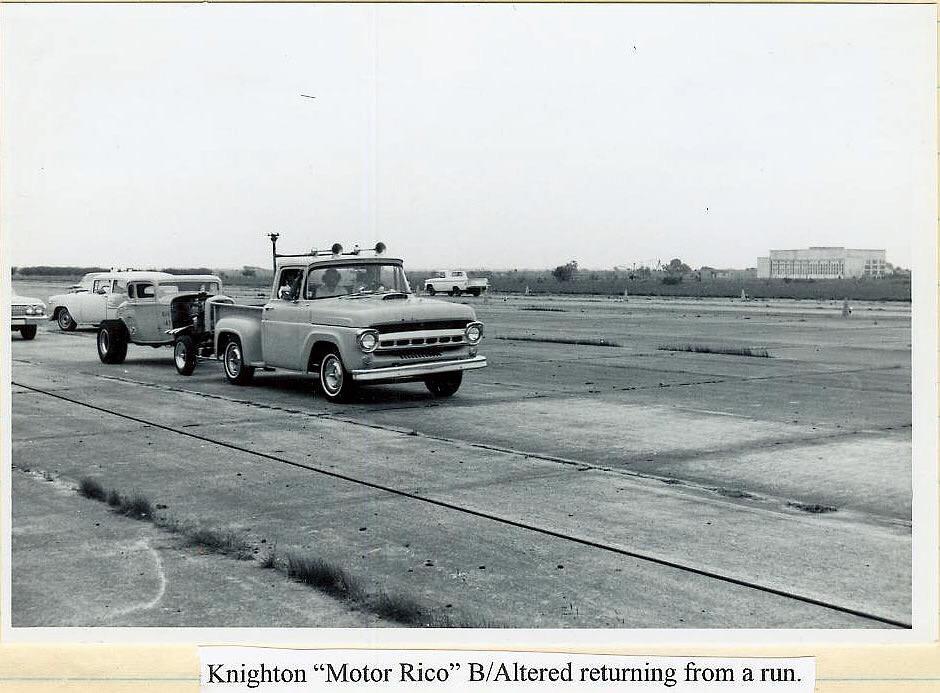 """History BOBBY KNIGHTON 32 ALTERED """"Motor Reco"""""""