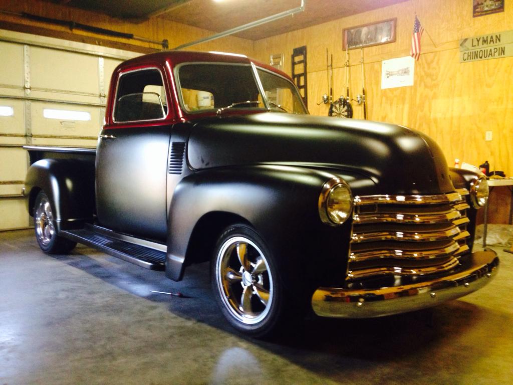 1950 Chevy Truck Rear Fenders Fender Stepside Left 1947 1948 1949 19471955