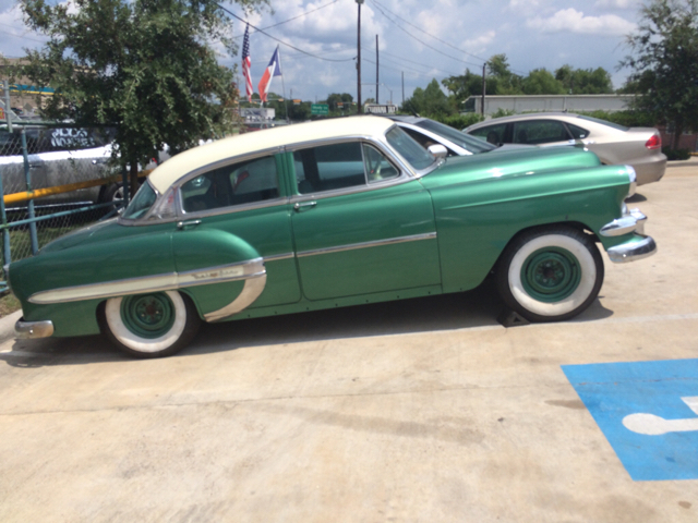 Projects 54 Chevy Bel Air 4 Door Stock Lowered Super