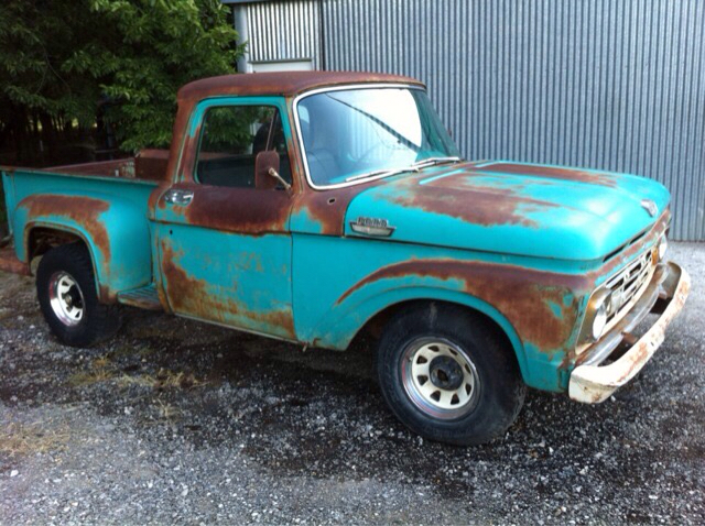 Projects - 1964 f100 project | The H A M B