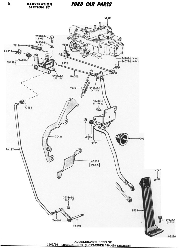 Throttle Cable Dos Donts on 1964 ford fairlane wiring diagram