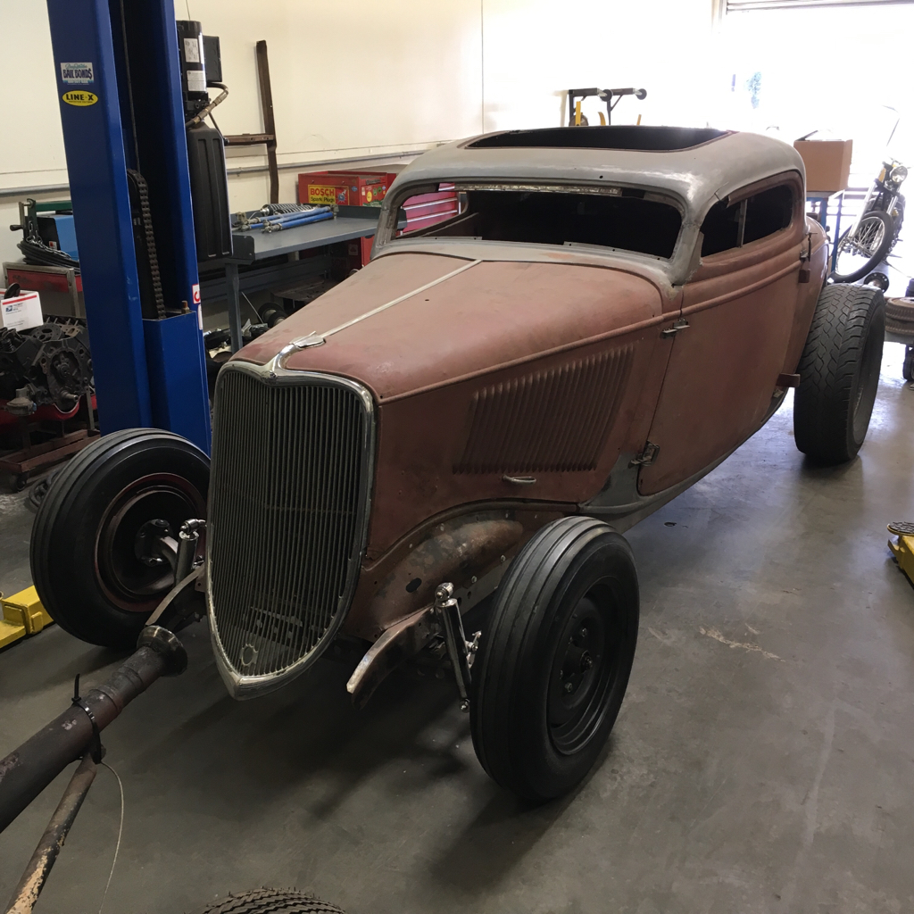 Projects 1933 ford 3 window coupe new build the h a m b for 1933 ford 3 window