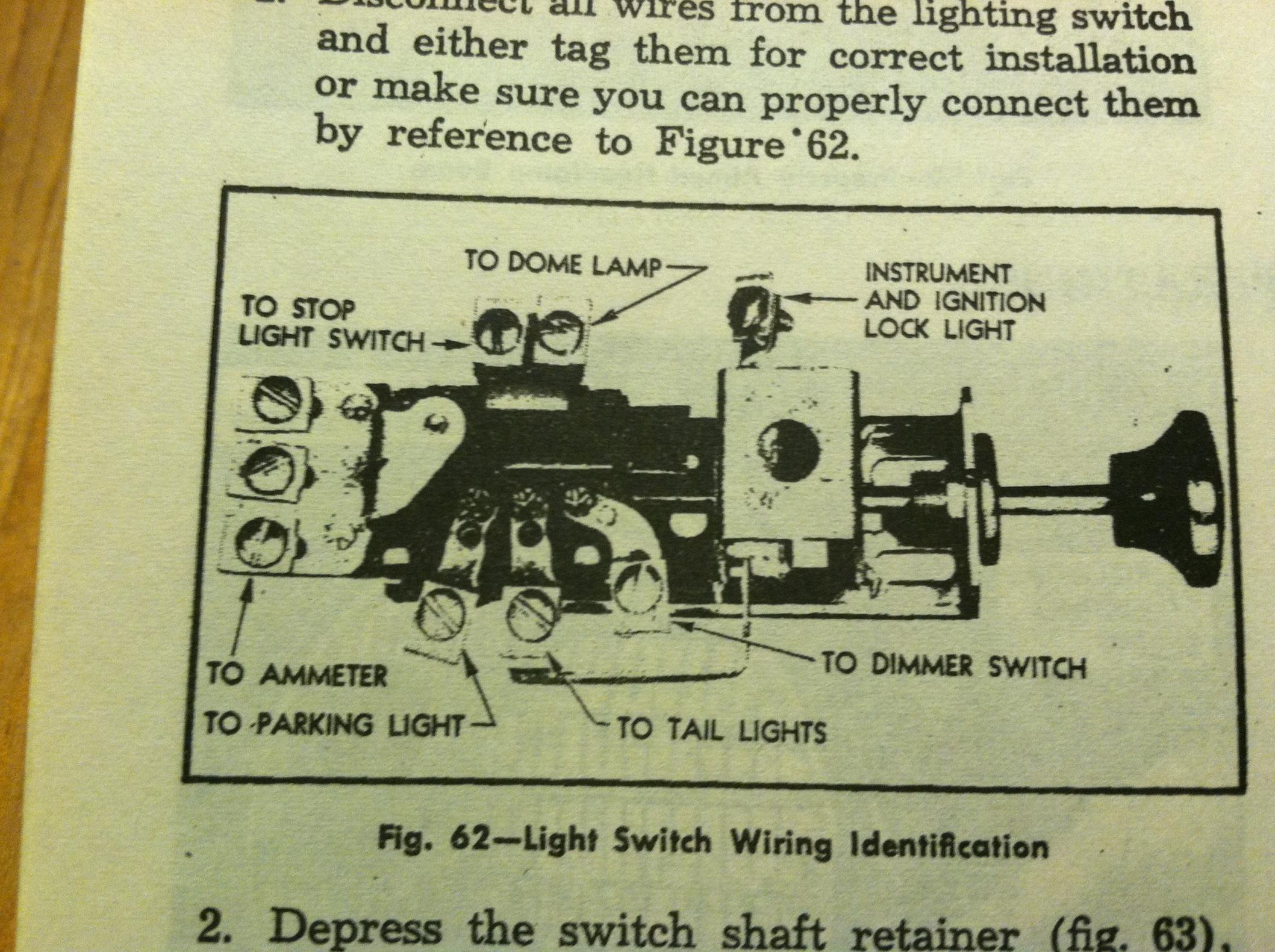 1947 Chevy Headlight Switch Wiring Diagram Trusted 1956 Bel Air 50 Light Experts Of U2022 55