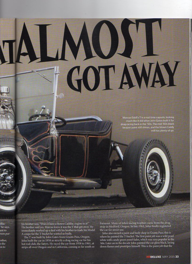 Real Survivor 50\'s Hot Rod 1915 Ford T Roadster For Sale or Trade ...