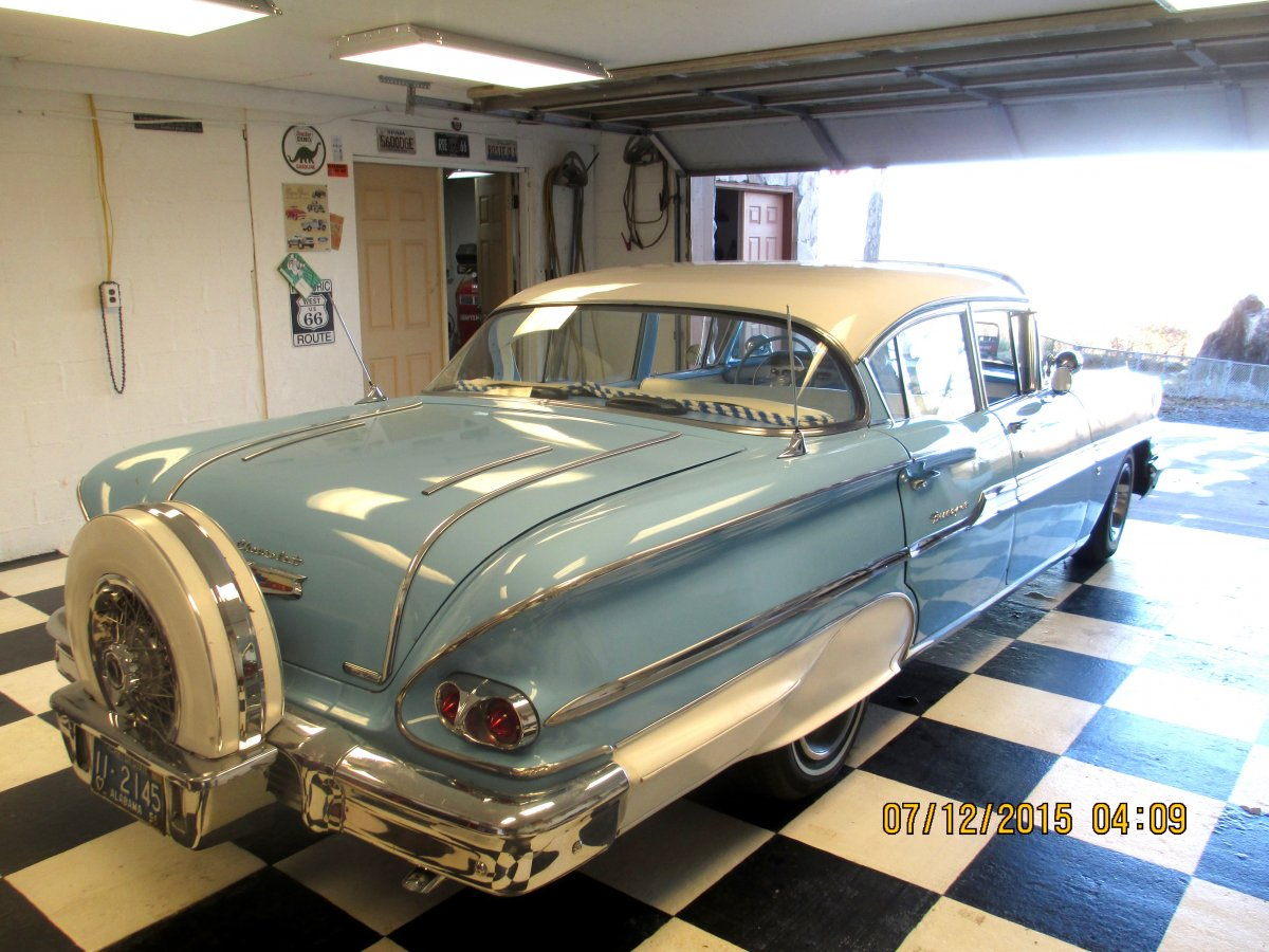 For Sale 1958 Chevy Biscayne 4dr Sedan | The H.A.M.B.
