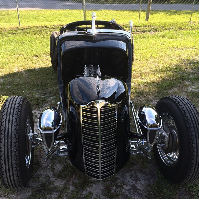 Projects - Model A Packard Grille Boattail Speedster