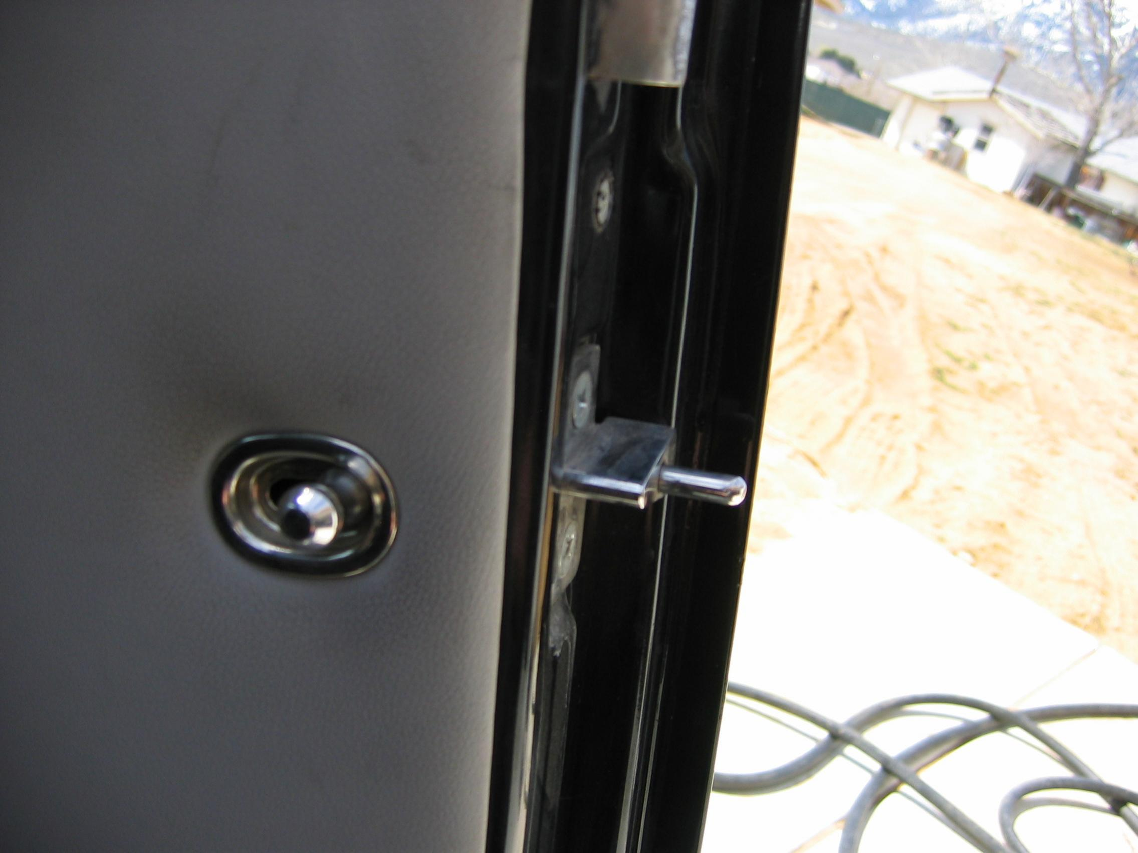 Projects Suicide Door Security Locks Made My Own The H