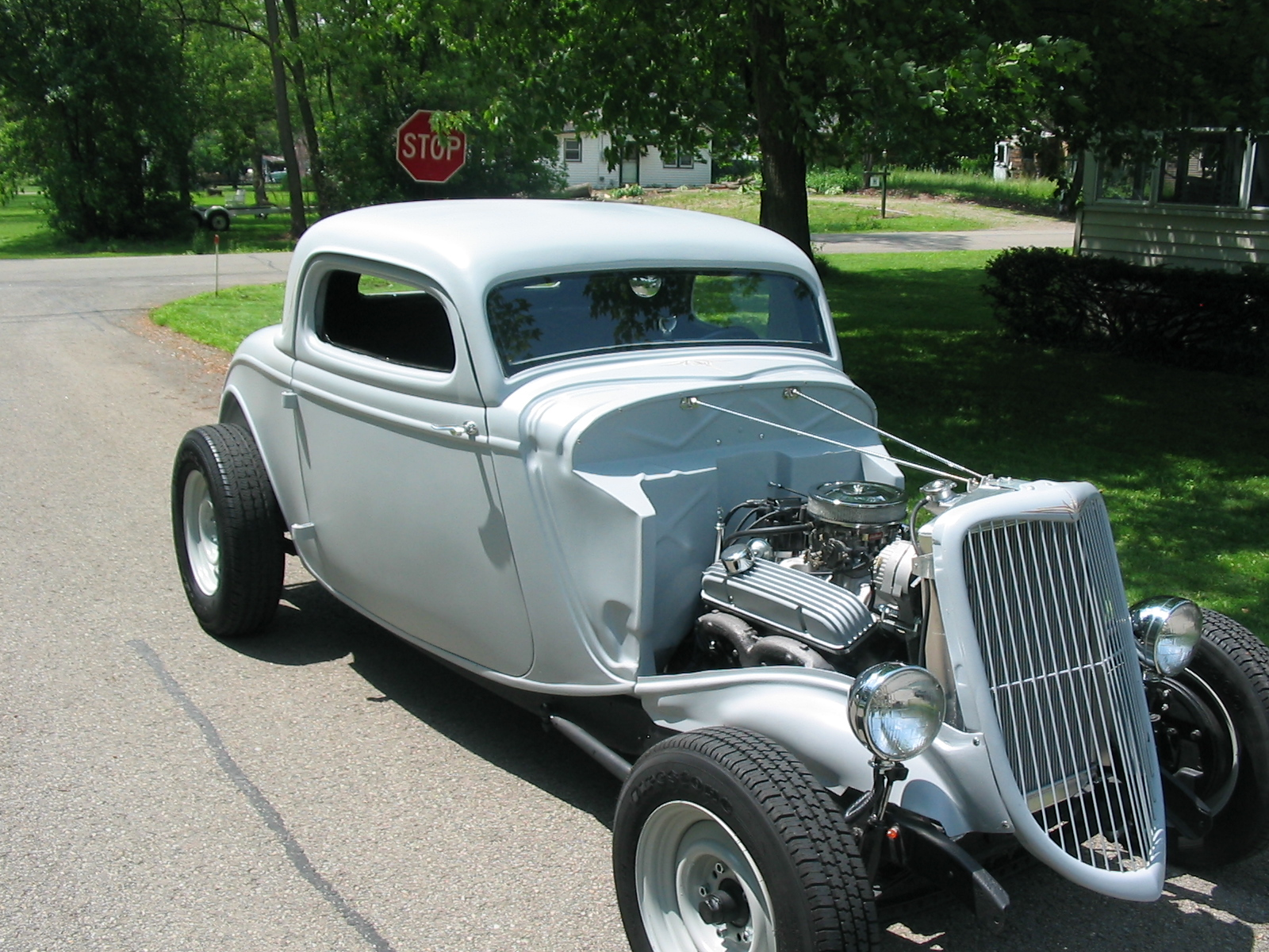 1934 ford 3 window coupe the h a m b for 1934 3 window ford coupe