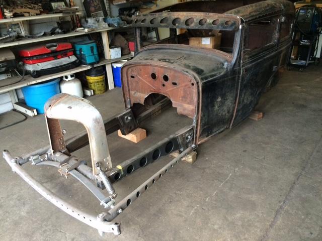1931 Studebaker Hot Rod / Rat Rod project | The H A M B