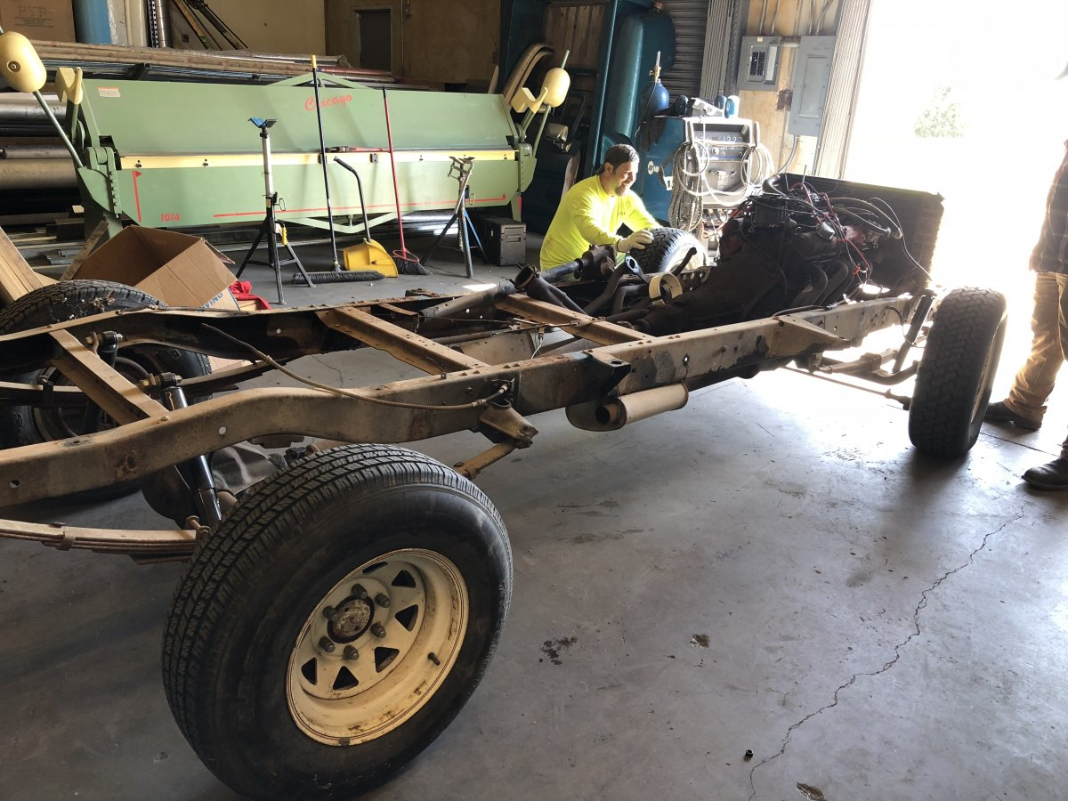 1957 Chevy Apache Rolling Chassis | The H.A.M.B.