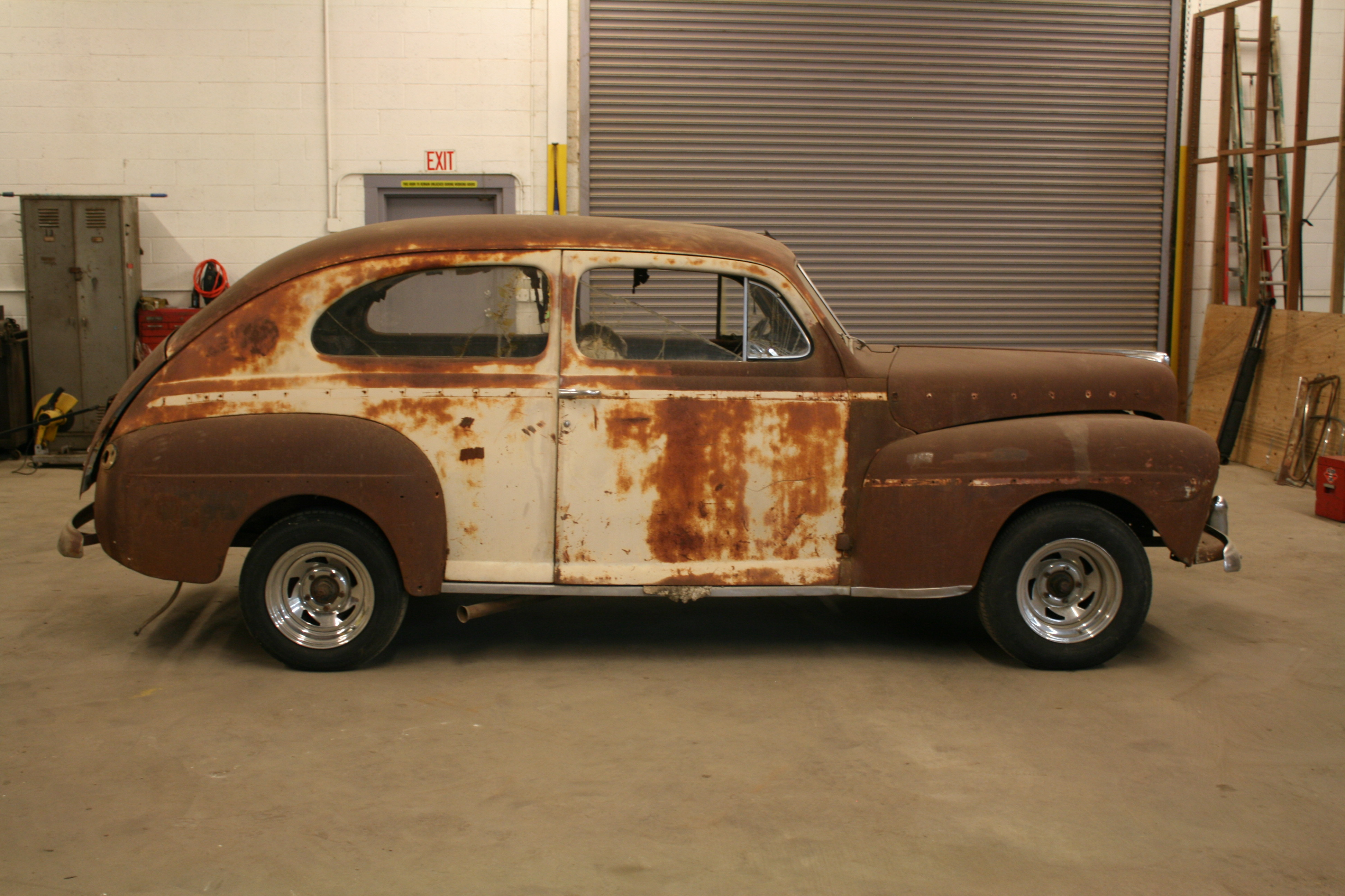 1946 1947 1948 ford 2 door sedan the h a m b for 1948 ford 2 door coupe