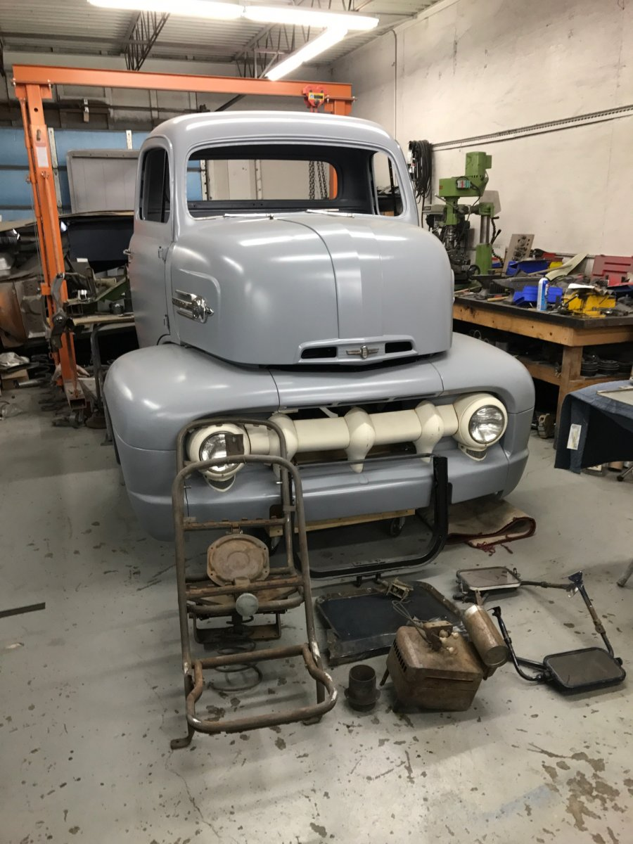 1952 Ford F6 Coe The H A M B