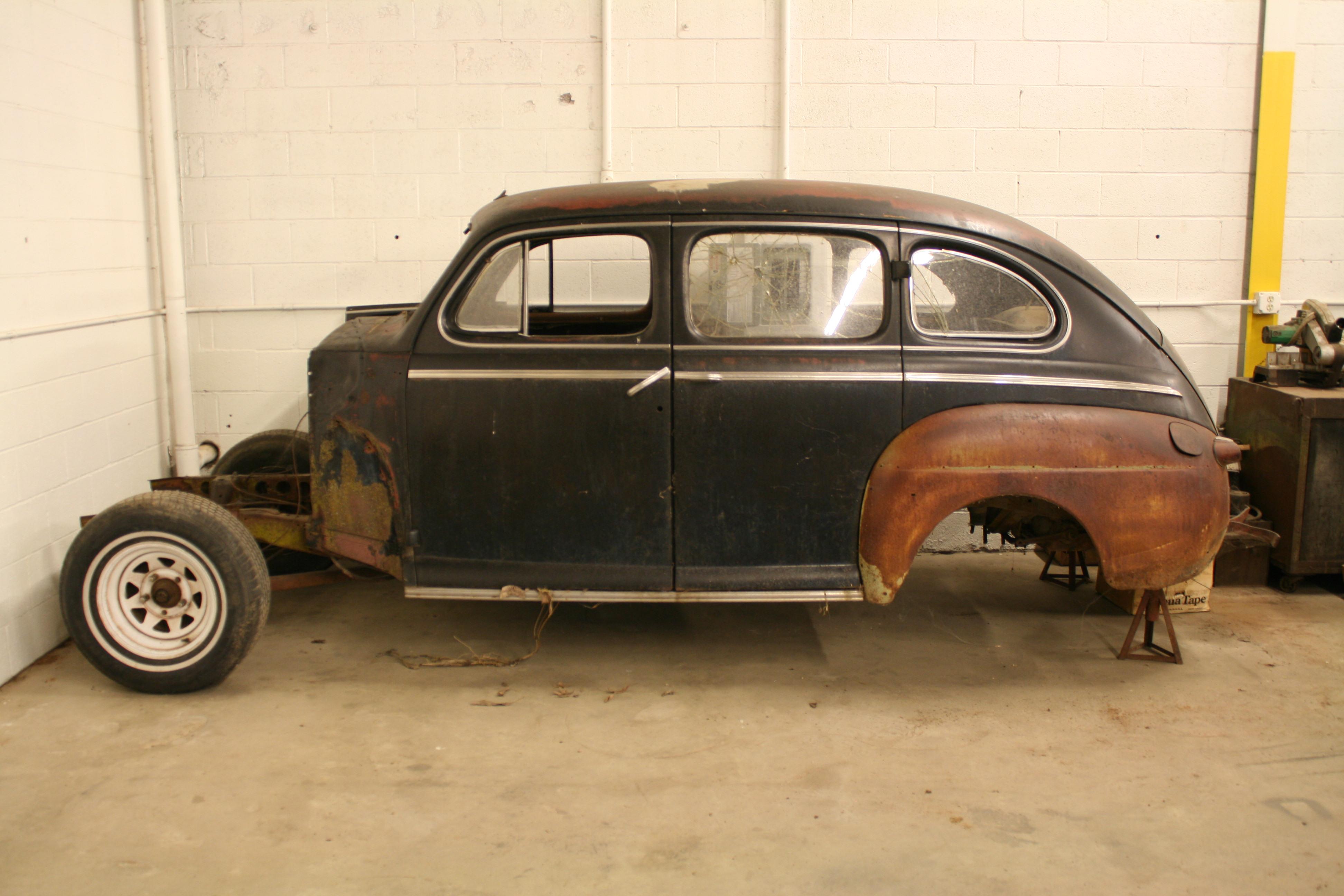 1946 1947 1948 ford 2 door sedan the h a m b for 1946 mercury 4 door sedan