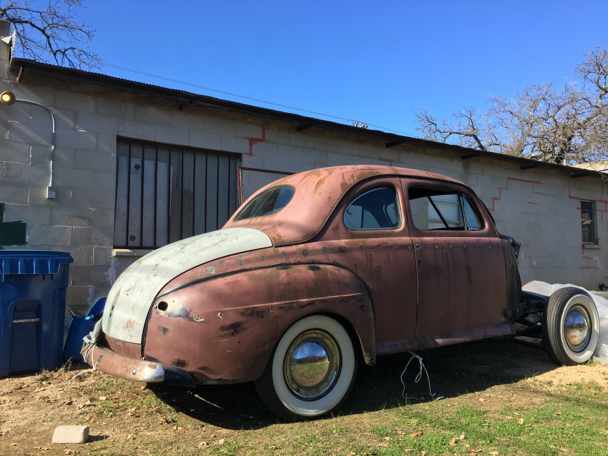 1948 1941 Ford Long Door Coupe The H A M B