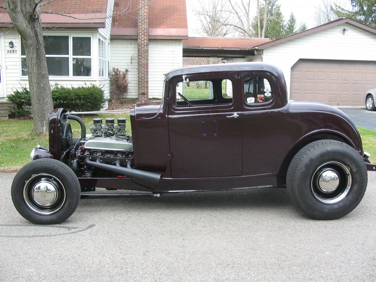 32 ford 5 window coupe nailhead buick the h a m b for 1932 ford coupe 5 window