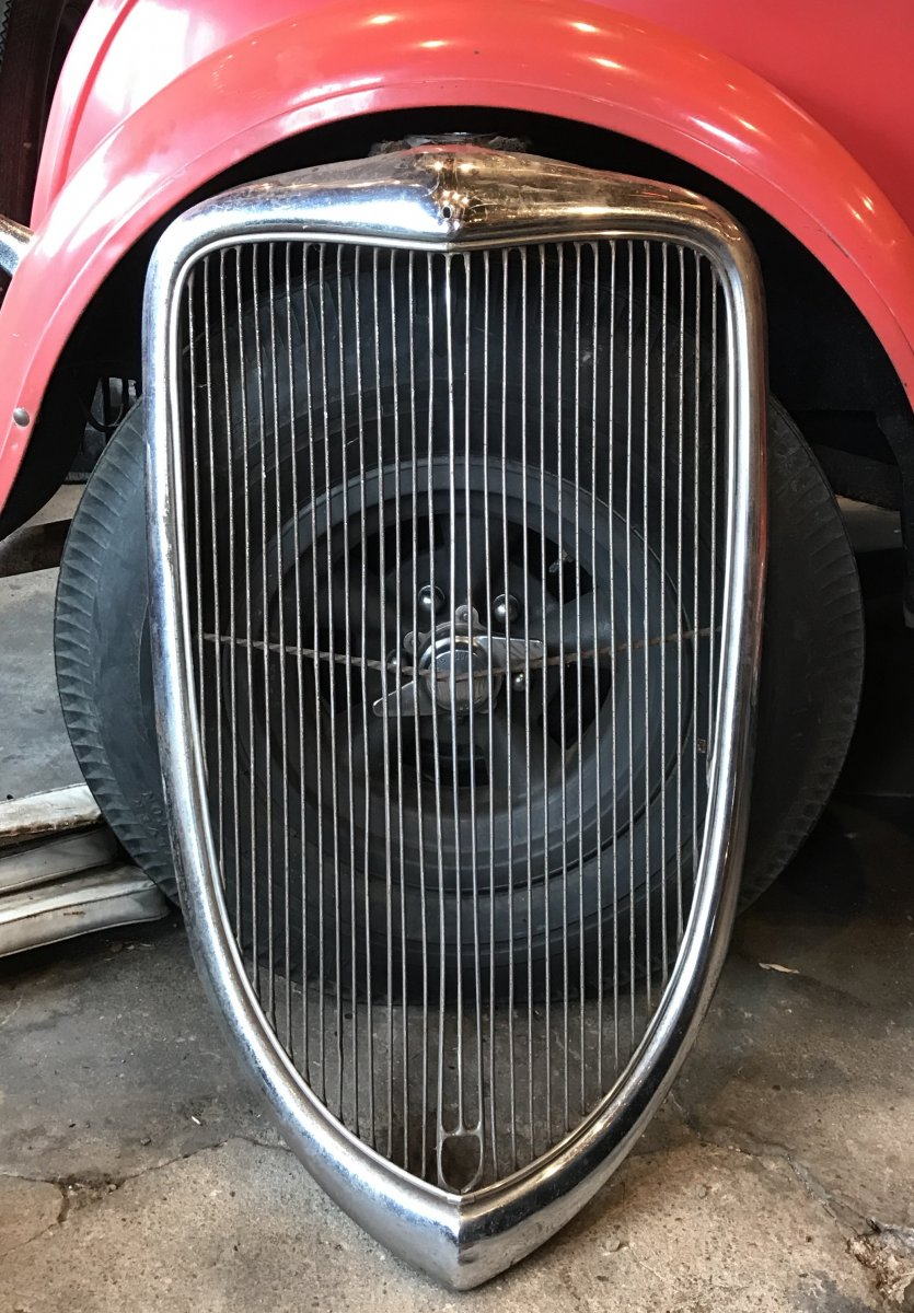 Jersey City Ford >> 1934 ford grill ****SOLD*** | The H.A.M.B.