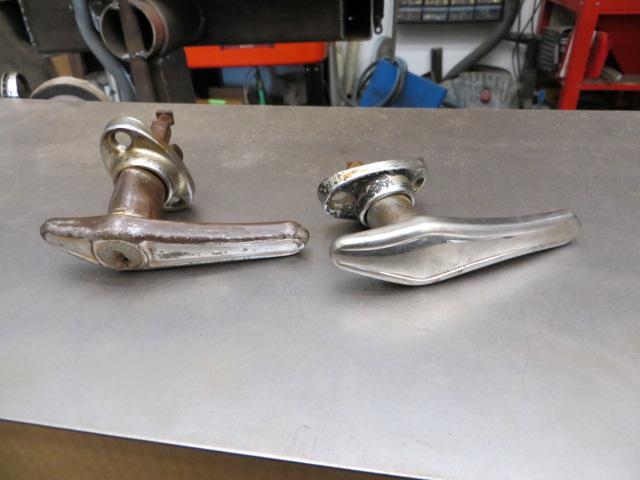 1930 1931 model a door handles the h a m b for 1930 door locks